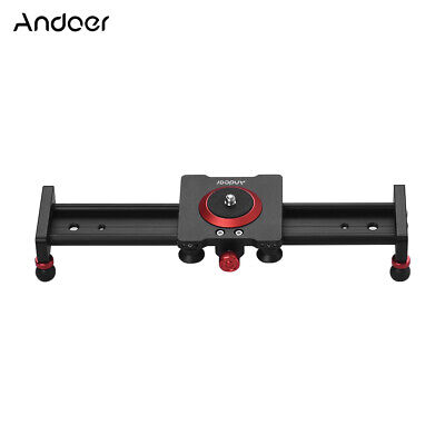 Andoer 30cm/12inch Aluminum Alloy Camera Track Slider Video Stabilizer Rail O1J1