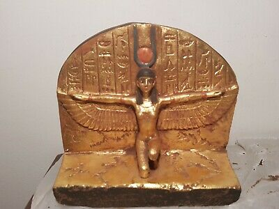 Rare Antique Ancient Egyptian Statue Goddess Isis Horus Sekhmet Toth2589–2566 BC