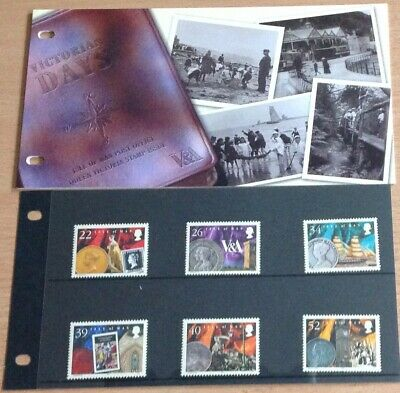 Isle Of Man  Presentation Pack 2001 Victorian Days Sg917/922