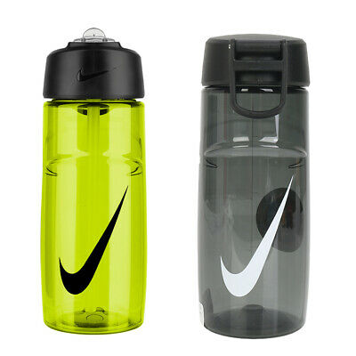 Nike Twist Water Bottle Stainless Tumbler Black Cycling 16oz Cups AC4245-068