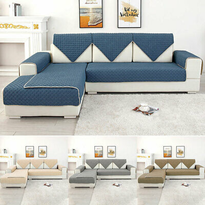 Sofa Cover Seater Quilted Couch Covers Lounge Protector Pet Dog Slipcovers