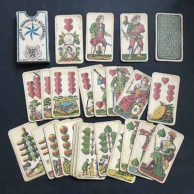 AAA plastic coated playing cards NEUF sous blister Jeu de 36 cartes à jouer