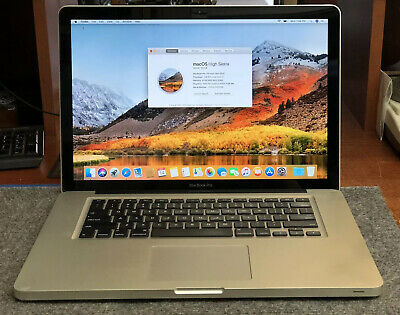 "APPLE MACBOOK PRO (A1286) 15"" - MID 2012 - 8GB/750GB - 2.6GHZ i7 (PRE-OWNED)"
