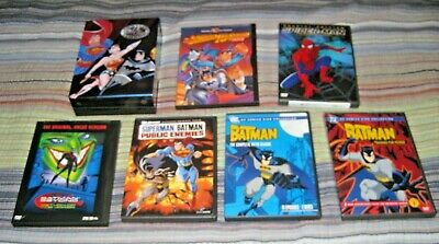 HUGE Mostly DC Animated DVD Lot Complete Justice League Batman Superman MORE!