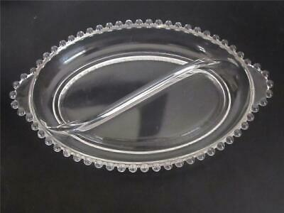 Imperial CANDLEWICK Oval Handled Relish Dish