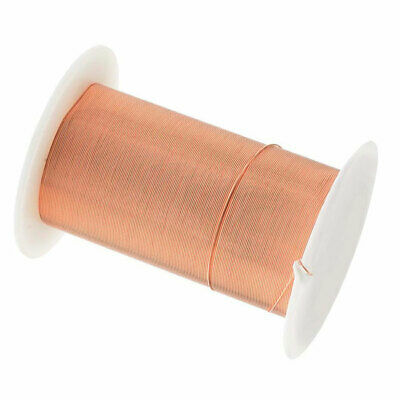 Beadsmith Tarnish Resistant Bright Copper Wire 28 Gauge 40 Yards (36.5 Meters)