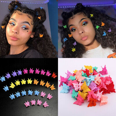 Color Women Girls Hair Claws For Kid Baby Mini Hairpins Butterfly Hair Clips