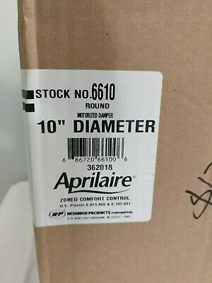 Aprilaire 6610 10'' Motorized Damper with Actuator 362018