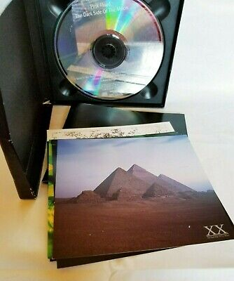 Pink Floyd The Dark Side Of The Moon CD Remastered Box Set 5 Postcards 1992