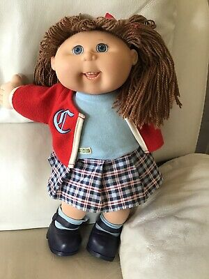2004 Play Along Cabbage Patch Doll in Original Outfit with Shoes