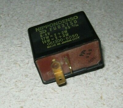 1982 - 1983 Yamaha Cv80 Cv 80 Beluga Flasher Blinker Relay Fu637Sd