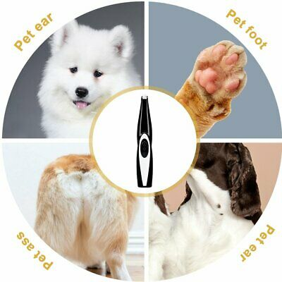 Cordless-Rechargeable-Pet-Cat-Dog-Electric-Hair-Trimmer-Shaver-Foot-Hair-Clipper