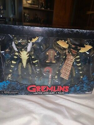 "NECA Winter Gremlins 2 Pack Christmas  7"" Inch Action Figures Brand New Sealed"