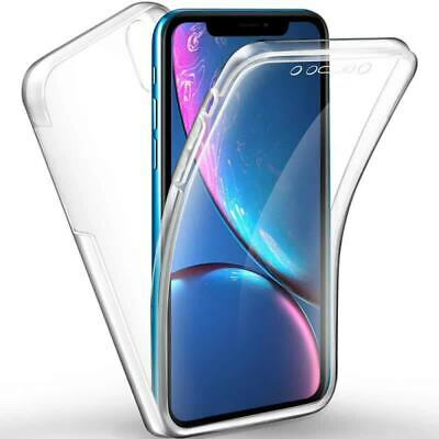 360 Degree Clear Soft TPU Hybrid Hard PC Back Case Cover For Redmi Note7/pro
