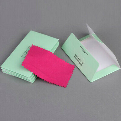 10pc Silver Polishing Cloth Cleaner Jewelry Cleaning Cloth Anti-Tarnish 10*6.3cm