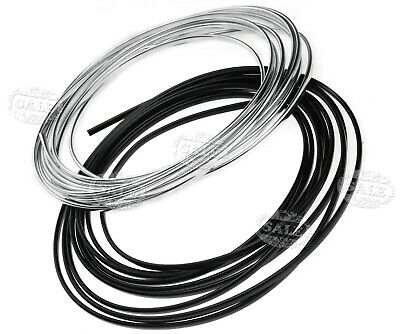 6 Meter 6x4mm u-profile Chrome Car Edge Guard Moulding Trim Molding Strip