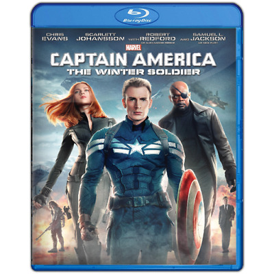 Captain America The Winter Soldier : NEW and SEALED Blu-Ray Marvel MCU