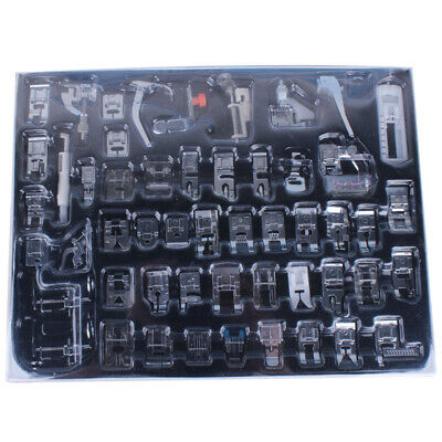 32/48/52pcs Domestic Sewing Machine Presser Foot Feet for Brother Janome Singer