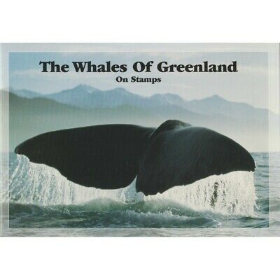 1998 Groenlandia Gronland Libro Postale The Whales Of Greenland Mnh Mf44081