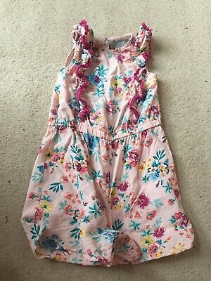 Primark Girls Gorgeous Floral Playsuit 24-36 Months 2-3 Years Cute