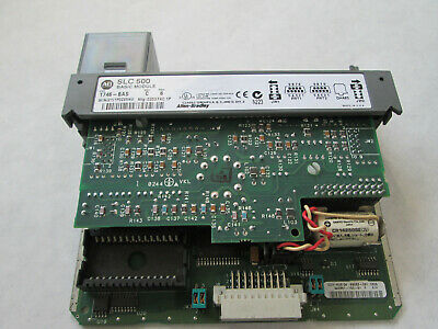Allen Bradley 1746-BAS Basic Module Series C, FRN 6 (Missing Front Cover)