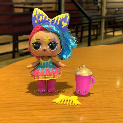 rare LOL Surprise Doll SPLATTERS with hairband Hair Goals Series 5 toy Xmas Gift
