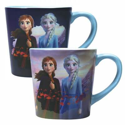 Official Disney Frozen 2 Destiny Heat Changing Coffee Mug Cup New In Gift Box