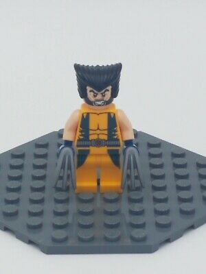 4x Wolverine Claws Blade Weapon Minifgures Super Heroes X-Men New Pieces Lego