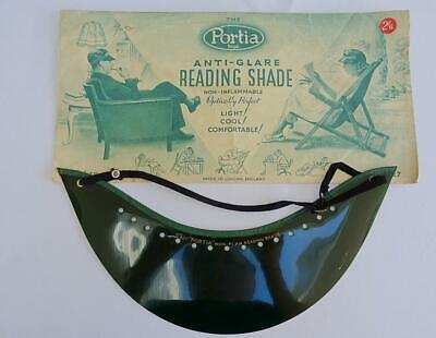 Vintage Advertising Portia Sun Shade Visor Anti Glare Reading Packet 1930s