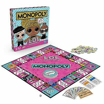 NEW LOL Surprise Edition Monopoly Board Game SWAP & COLLECT RARE DOLLS XMAS GIFT