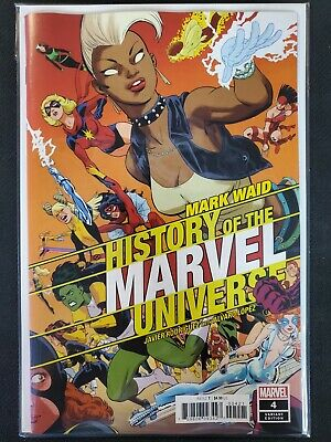 History of the Marvel Universe #4 Rodriguez Variant Marvel VF/NM Comics Book
