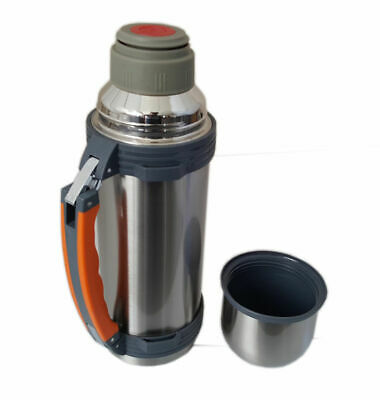 1L Vacuum Flask Stainless Steel Thermos Hot Drinks Soup Insulated Xmax Gift