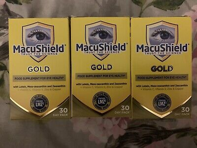 MacuShield Food Supplement 3 Month Supply/ 270 Capsules