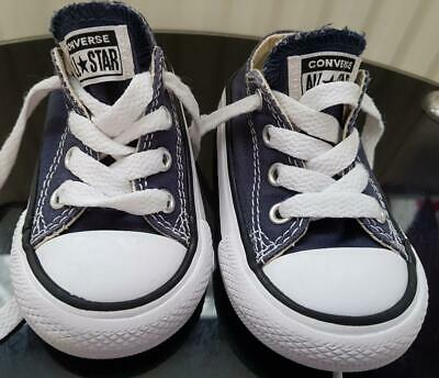 Unisex Navy Blue,  All Star Converse Shoes/Trainers Size 4, Eur 20