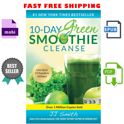 10-Day Green Smoothie Cleanse Weight-loss  [E-B 0 0 K]✔️[READ DESCRIPTION]✔
