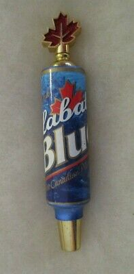 Small Labatt Blue Beer Tap Handle With 10 Coasters