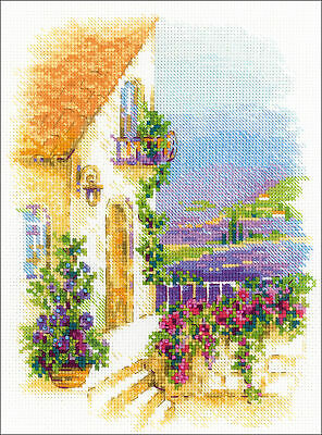 """14 Count RIOLIS Counted Cross Stitch Kit 11.75/""""X9.5/""""-Kitten On The Booklet"""