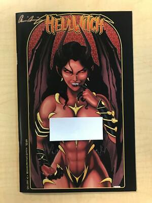 Hellwitch Gallery #1 RISQUE Profane Variant Terry Huddleston Signed Pulido /69