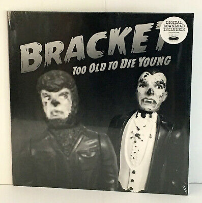 BRACKET too old to die young LP Vinyl Record SEALED / NEW , fat wreck , nofx