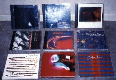 Lot of 9 Cocteau Twins Music CD's