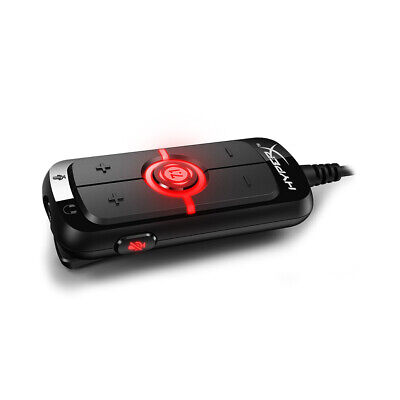 Kingston HyperX AMP USB Sound Card virtual 7.1 Surround Sound Built-in DPS I2J6