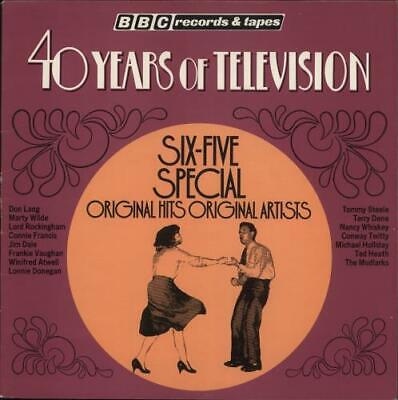 Various-50s/Rock & Roll/Rockabilly vinyl LP  record 40 Years Of Television Six