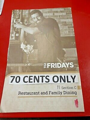 *Melbourne Entertainment Book Voucher Restaurant & Family Dining* 70 Cents ONLY*