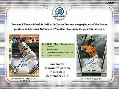 Pete Alonso - New York Mets 2019 Bowman Chrome 1 Case Player Break Peter #3