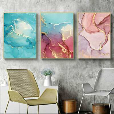 Nordic Abstract Art Modern Canvas Decorative Poster Living Room Paintings 3
