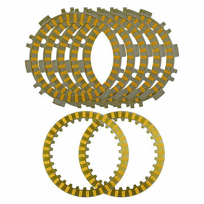 7X Friction Steel Clutch Plates For Yamaha T-Max 500 XP500 02-11 5GJ-16321-10-00