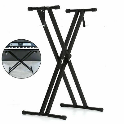 Electronic Piano X Stands Music Keyboard Standard Portable Rack Adjustable Metal