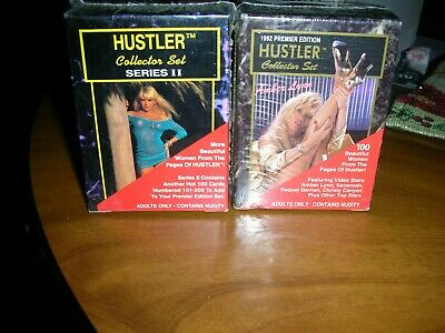 1992 Premier Hustler Collector Set And 1993 Series 2 Factory Sealed Set