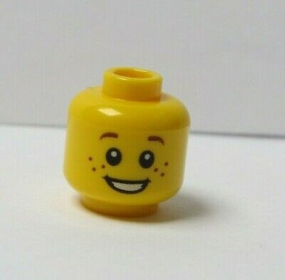 Boy Guy Lego Assorted Minifigure Heads  X10 Male Item #3 Spare Parts