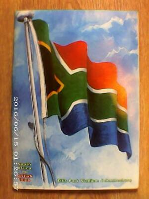 SOUTH AFRICA v BRITISH ISLES, JULY 1997, RUGBY PROGRAMME. LIONS. VG CONDITION.